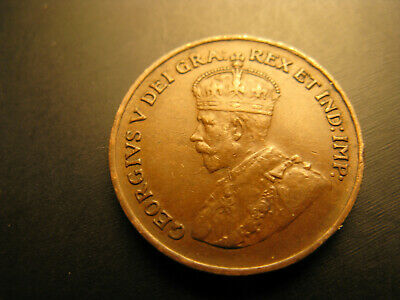Canada 1927 Keydate Rare High Grade Beautiful Small Cent Penny.