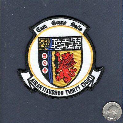 Plastic Backing VS-38 Red Griffins Squadron Patch