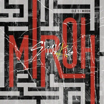 STRAY KIDS - Clé 1 : MIROH [Standard MIROH] CD+Poster+Gift+Tracking no
