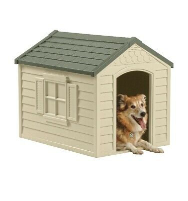 Durable Resistance All Weather Small Medium  Large XL Pet Dog House Home Outdoor