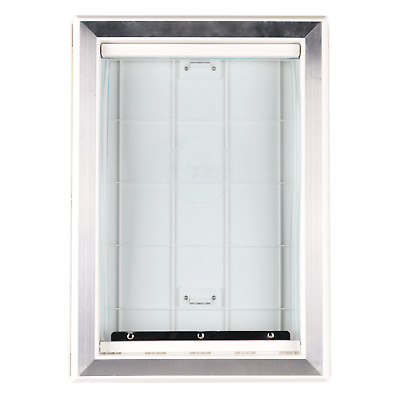 Extreme Weather Pet Door Dog Doors Exterior Entry Large Dogs Heavy Duty New NEW
