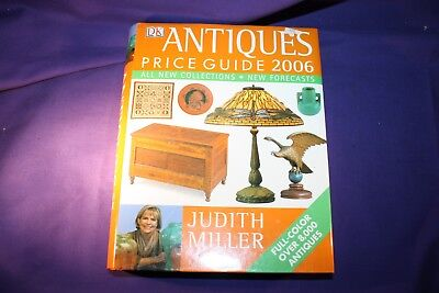 Antiques Price Guide 2006 Judith Miller Hardcover Vintage Collectible Book