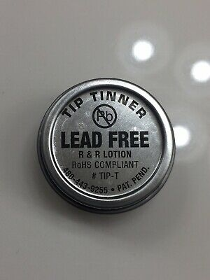R & R Lotion TIP-T,   I.C. Lead Free Tip Tinner, 1/2 oz. NEW