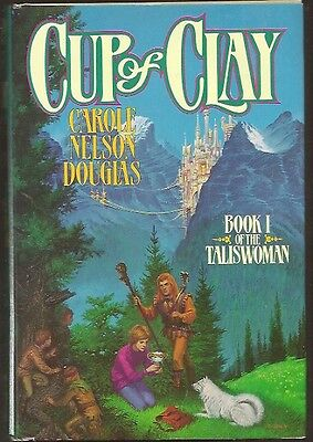 CAROLE NELSON DOUGLAS Cup of Clay 1st edition. Nice copy hardcover in jacket