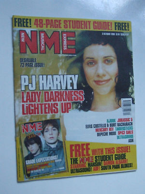 PJ HARVEY NME     Oct 3 1998