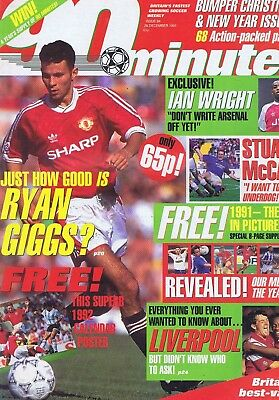RYAN GIGGS / IAN WRIGHT STUART / McCALL LIVERPOOL	90	Minutes	no.	84	28	Dec	1991