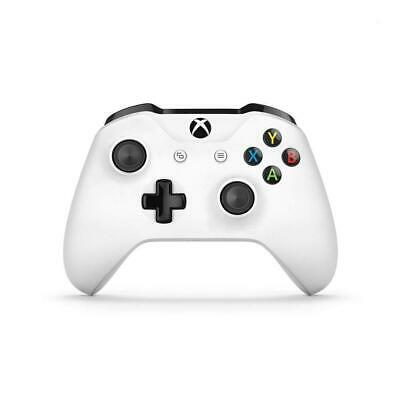 Microsoft TF5-00004 Xbox One Wireless Controller With 3.5mm Headset Jack White