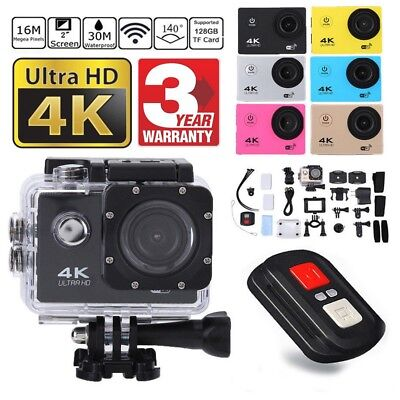 SJ9000 Wifi 4K 1080P Ultra HD Sport Action Camera DVR DV Camcorder Waterproof BK