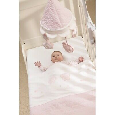 silver cross mobile new vintage pink cot