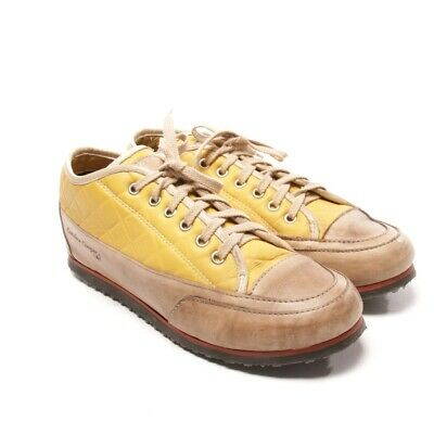 Candice Cooper Sneakers Tgl D 39 Giallo Beige Donna Scarpe pelle Chaussures