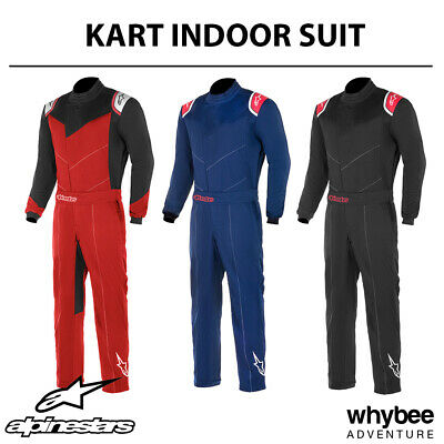 3357019 Alpinestars 2019 INDOOR KART SUIT Entry Level Basic Overalls XS-XXXL