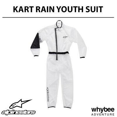 3266519 Alpinestars 2019 Childrens Kart Rain Suit Sizes 120-150cm for Cadet Kids