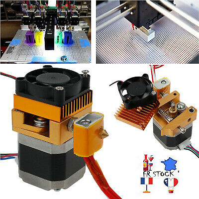 3D Printer MK8 Extruder +Sensor Hotend 0.4mm Nozzle Latest Upgrade Print Head