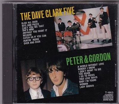 THE DAVE CLARK FIVE vs. PETER & GORDON  Japan-Press. - CD