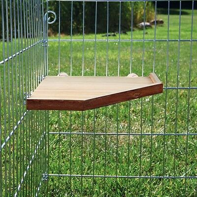 Trixie Cage Or Playpen Shelf - Shelter and Platform 3 Sizes For Small Pet Cages