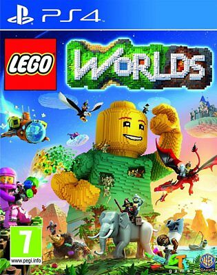 LEGO Worlds (PS4)  BRAND NEW AND SEALED - IN STOCK - QUICK DISPATCH