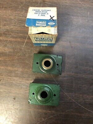 1953-64 Ford Truck  Rear Engine Support Insulators  Nos Ford  319
