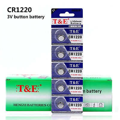 Anmaspower 50 PCS 3V CR1220 Coin Button Cell Batteries For Watch Toys Remote NEW
