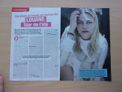 coupures de presse/  LOUANE/ 2 pages/en 2018/ ref. 66688