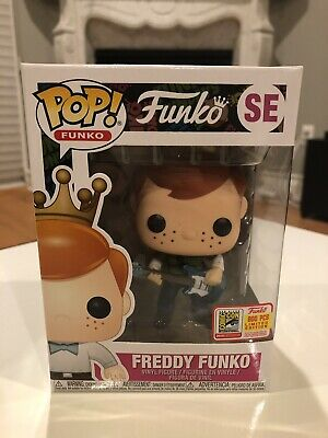 Funko POP Freddy Funko as Kurt Cobain Nirvana SDCC 2018 exclusive LE 800