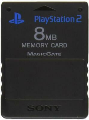 Official Sony Playstation 2 PS2 Memory Card - FREE MCBOOT 1.966 - Free P&P (2)