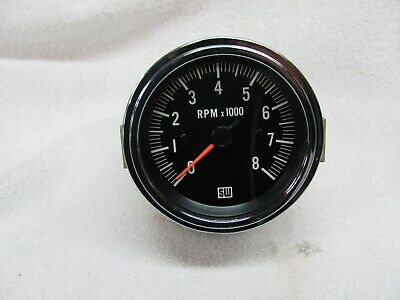 Detailed All Vintage Stewart Warner Tachometer Tach Install Manual