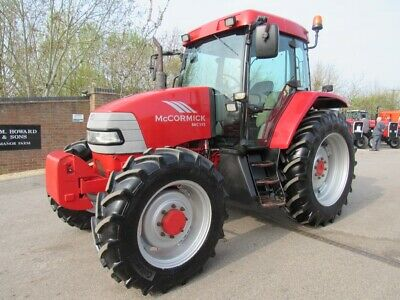 MCCORMICK MC115 4WD TRACTOR 40kph SEE THE VIDEO AIR CON FRONT WEIGHTS