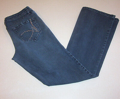 c42b92f815c Junior Women's Arizona Low Rise Boot Cut Blue Denim Jeans 11
