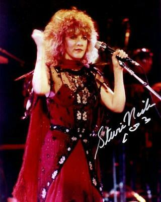 REPRINT - STEVIE NICKS Fleetwood Mac Hot Autographed Signed 8 x 10 Photo Poster