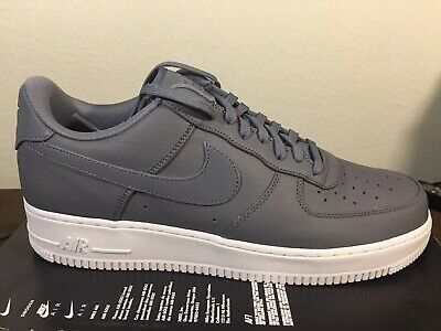competitive price 703e5 94bb2 Nike Air Force 1  07 Prm Reflective 3M Light Carbon 905345 003 Size 13