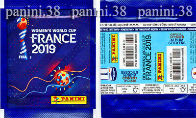 "Pochette FRENCH VERSION ""WORLD CUP FRANCE 2019"" bustina, packet, tüte PANINI"