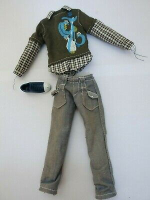 "♥ BARBIE KLEIDUNG ♥ Ken Outfit ""Fashion Fever"" ♥ 2007 Mode #L3385"