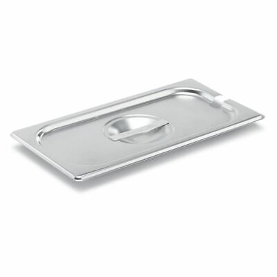 Vollrath 75230 Super Pan V S/S 1/3 Size Slotted Cover