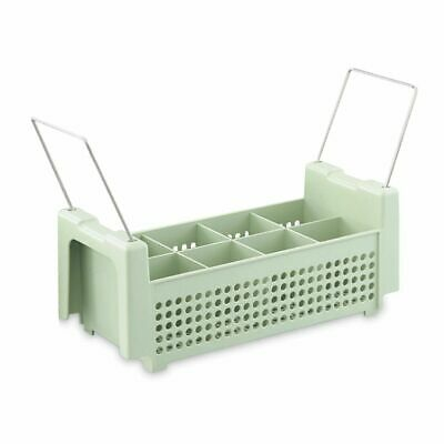 Vollrath 52641 8-Compartment Flatware Basket with Handles