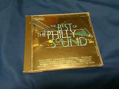 Best Of Philly Sound By The Stylistics Trammps Spinners ,Music CD