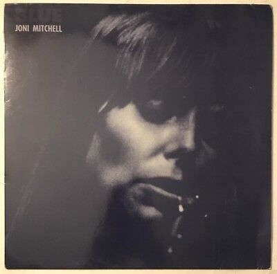 Joni Mitchell Blue Lp Reprise Alsdorf Germany Strawberry Cut Near Mint