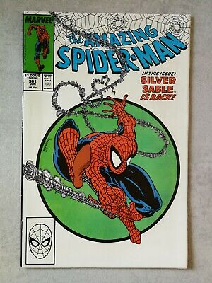 The Amazing Spider-Man #301 - VF/NM 9.0 -  Marvel 1988 - Todd McFarlane