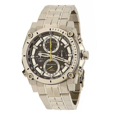 Bulova Men's Precisionist Stainless Steel Chronograph Analog Dive Watch