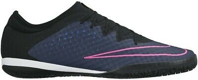 d316e8541a2 New Nike Mercurialx Finale Ic Indoor Soccer Shoes Navy Pink 725242-440 Sz  11.5