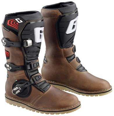 Gaerne Trials Boots Balance Oiled Brown