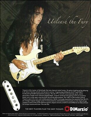 ARTIST YNGWIE MALMSTEEN Stratocaster Strat White 39 inches Electric