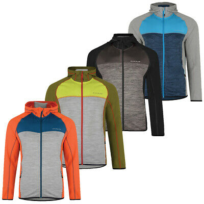 Camping & Outdoor Herren Fleece-Jacke Core Stretch Strick Bergsport Stretchjacke Wanderjacke