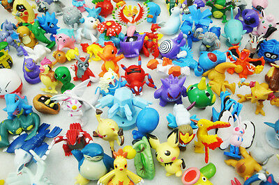 48PCS Wholesale Lots Cute Pokemon Mini Random Pearl Figures New Kids Toy Hot