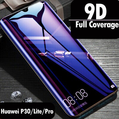 2X 1X for Huawei P30 Pro P30 Lite Tempered Glass Screen Protector Full Cover
