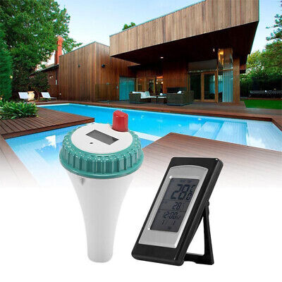 Wireless Remote Floating Thermometer Swimming Pool Waterproof Tub Pond Spa CHZ