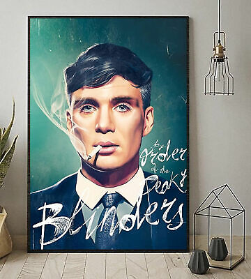 By The Order Of The Peaky Blinders Portrait Paper Poster No Frame US Supplier