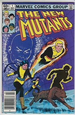 The New Mutants # 1  Nm  Key Issue 1St Print  Cents  1983