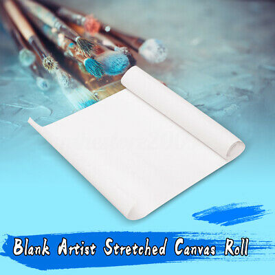 BLANK CANVAS ROLL Oil Painting Fine Linen Primed Coating For Artists