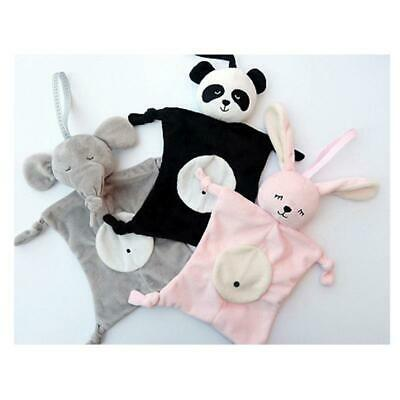 Babies Kids Plush Soothing Animal Toys Security Blanket Baby Soothing Towel Hot