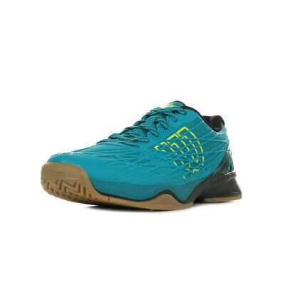 Chaussures Wilson homme Kaos Indoor Tennis taille Bleu Bleue Synthétique Lacets